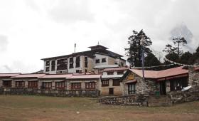 around sherpa village nepal