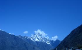 Himalaya view in nepal