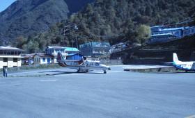 Lukla airport nepal trekking in nepal